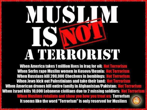Image result for islam is not terrorism