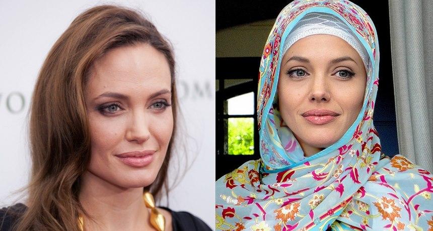 Will Angelina Jolie Convert To Islam and Become A Muslim ... Lindsay Lohan Islam