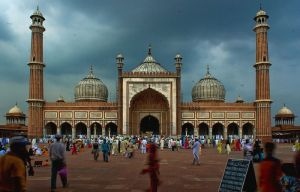 The Jama Masjid in New Delhi, India