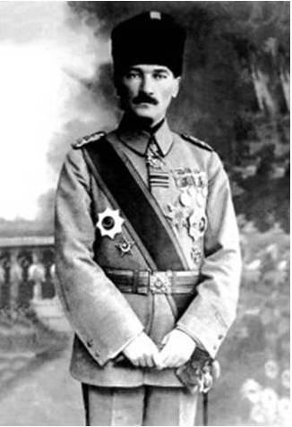 Mustafa Kamal Ataturk 1918