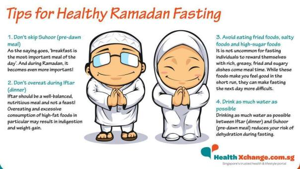 Tips for Healthy Ramadan Fasting | Islam; The Religion of Peace