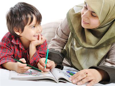 Image result for mother and child islam