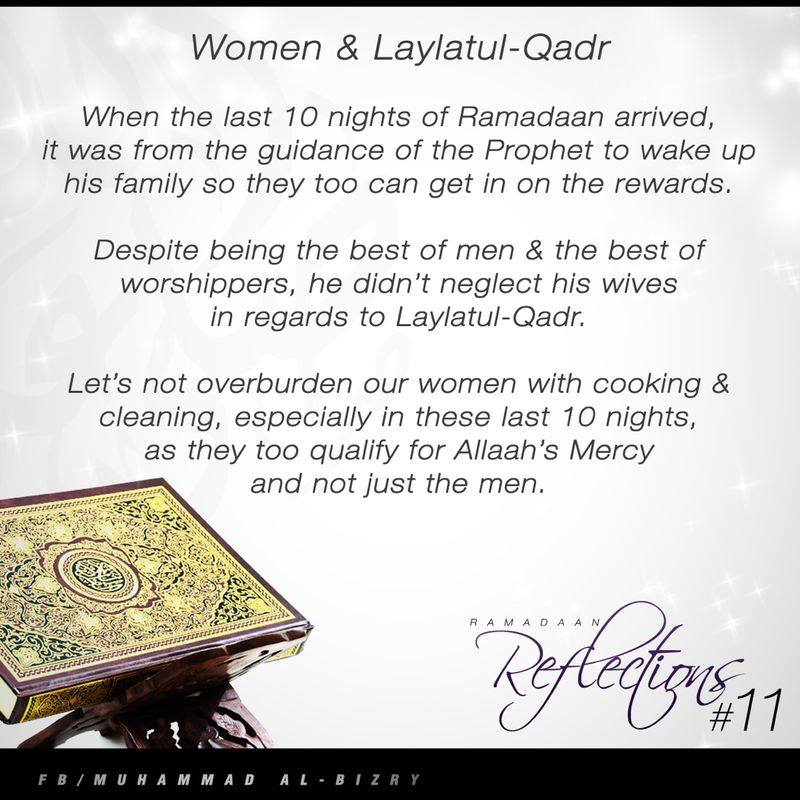 Women and Laylatul Qadr   Islam; The Religion of Peace